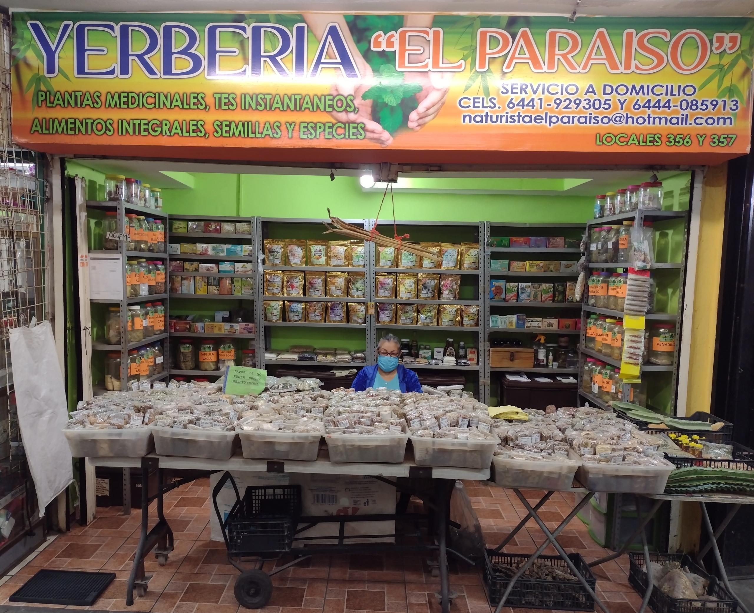 Naturista y Hierberia el Paraiso